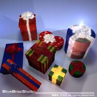 3d xmas gifts