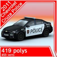 2011 Chevrolet Cruze Police