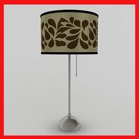 3d max lamp scene