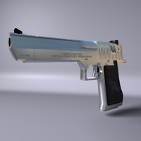 IWI Desert Eagle (.C4D R10 + or .OBJ).rar