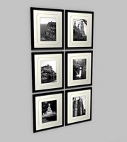 6x Wall Photos Framed