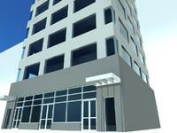 rise building 3d 3ds