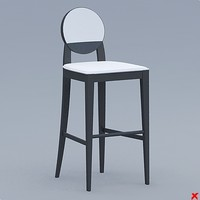bar stool 3ds