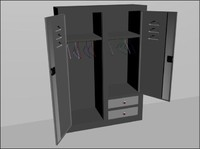 3d model of closed