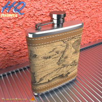 3d model of hip flask 12