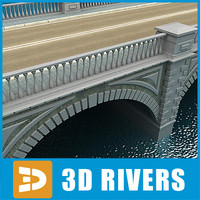 Arched stone bridge by 3DRivers