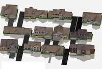 house fully mapped 3d model