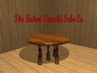 table home 3d scn