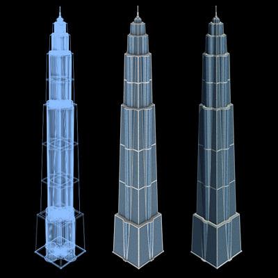 Sci-Fi Buildings - Series 1: Super Skyscraper 9