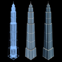 Sci-Fi Buildings - Series 1: Super Skyscraper 9