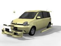 Sienta 3D models