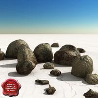 3d model of stones v5