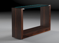 macassar console table 3d model