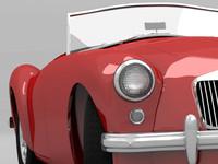 3dsmax classic mg mga car