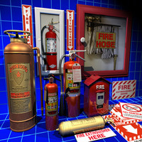 Fire Extinguisher Collection 01