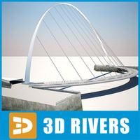 Gateshead millennium bridge by 3DRivers