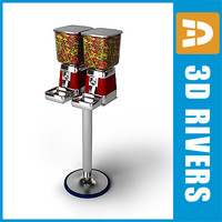 Gumball machine by 3DRivers