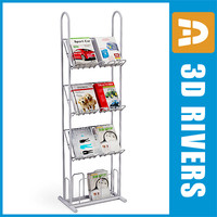 Display shelf with magazines by 3DRivers
