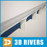 Reinforced concrete bridge by 3DRivers
