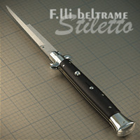 Classic Italian Stiletto Knife