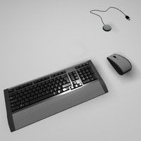 3ds max wireless keyboard mouse set