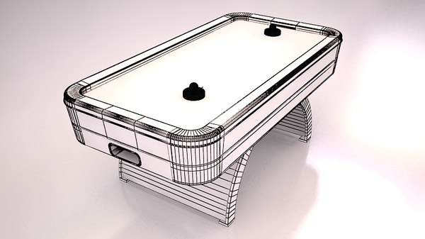 3d max air hockey - Air Hockey... by ofirc1
