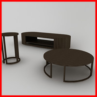 3d coffe table model