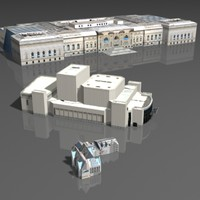 3d max museums buildings metropolitan