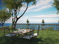 camille garden mirto table 3d max