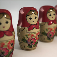 Matrioshka Nesting Dolls