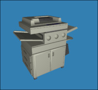 3d model of copy copier