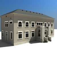 3d model historic building university campus