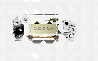 3d dogma logo model