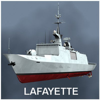 Lafayette Stealth Frigate