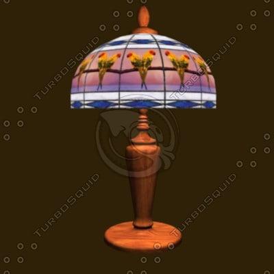 LM Parrot Lamp