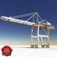 Port container crane V2