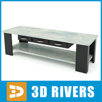 3d table cutting model