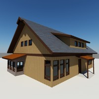 Country Cabin and Garage