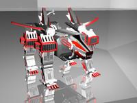 3d model custom zoid