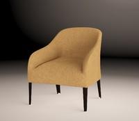 3ds max apta armchair