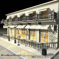 Cafè Restaurant facade
