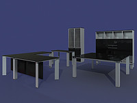 3d furniture della valentina office