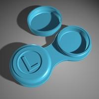 3d model of contact lens
