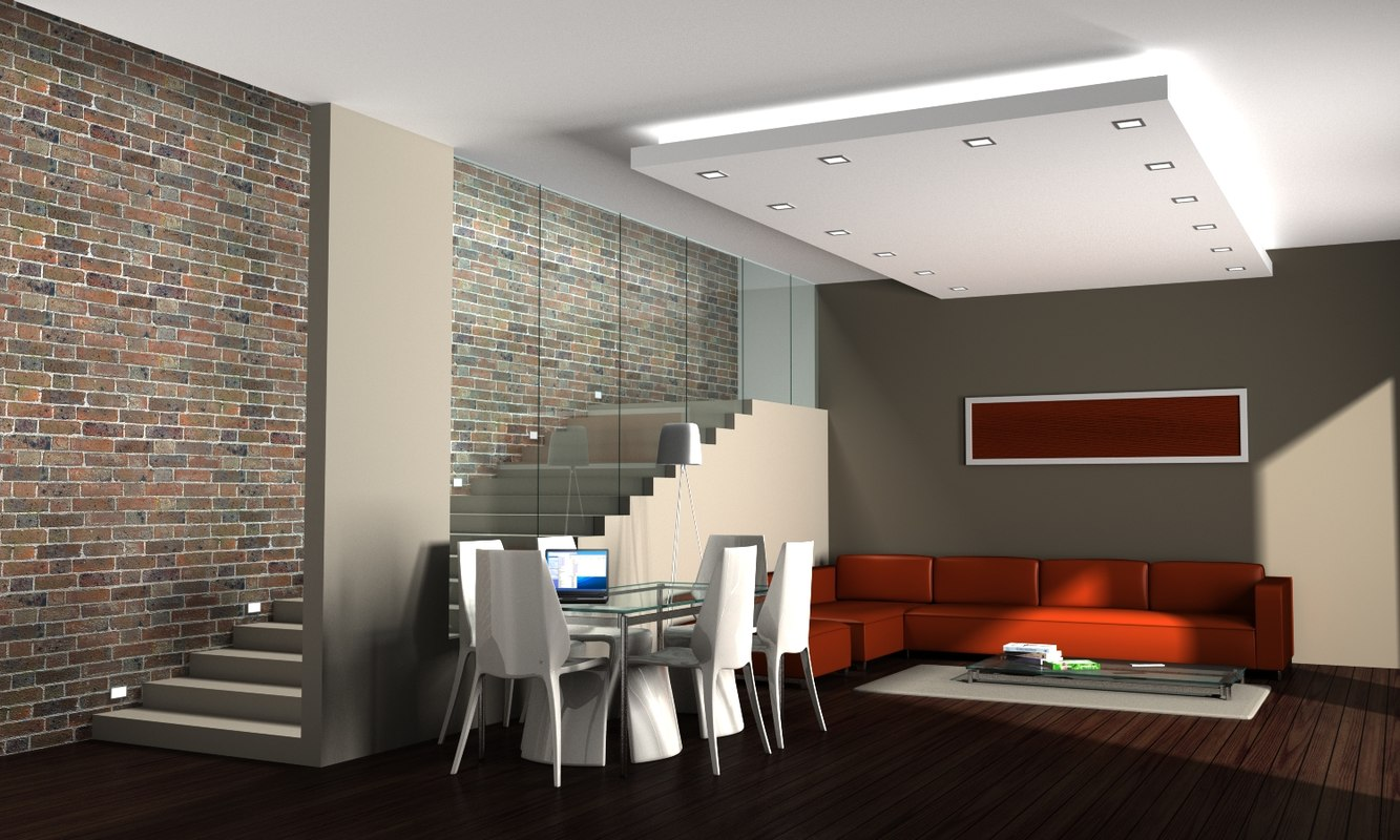 3ds max living room for Living room 3ds max