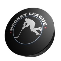 3d model of hockey puck