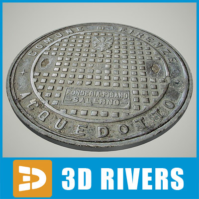 Manhole 08 by 3DRivers