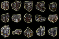 3ds max pack 1 medieval city