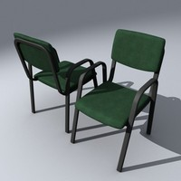 office chair 3d 3ds