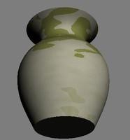 marble pot 3d model