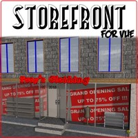 vue store storefront